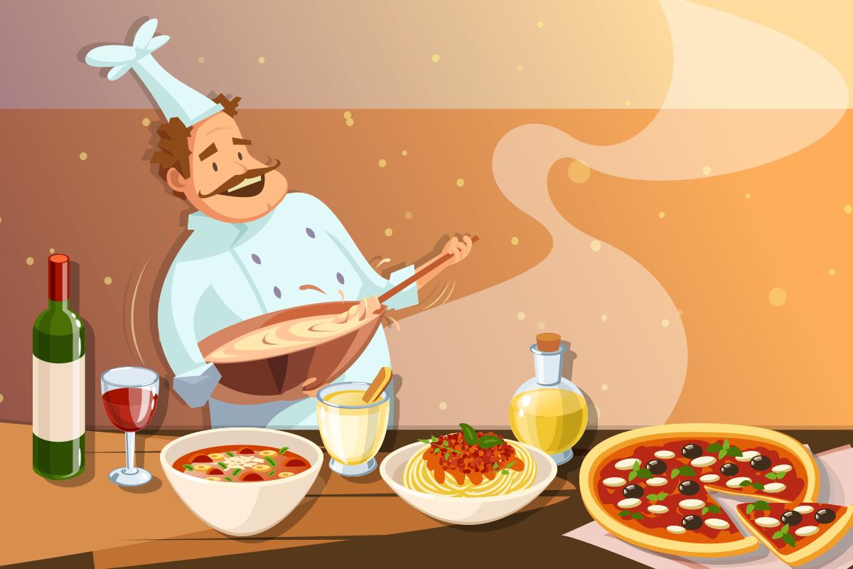 Италия еда