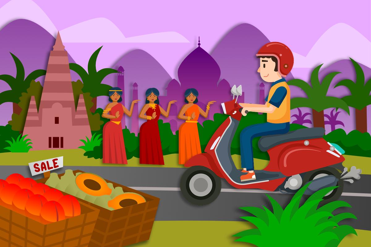 Индия отпуск